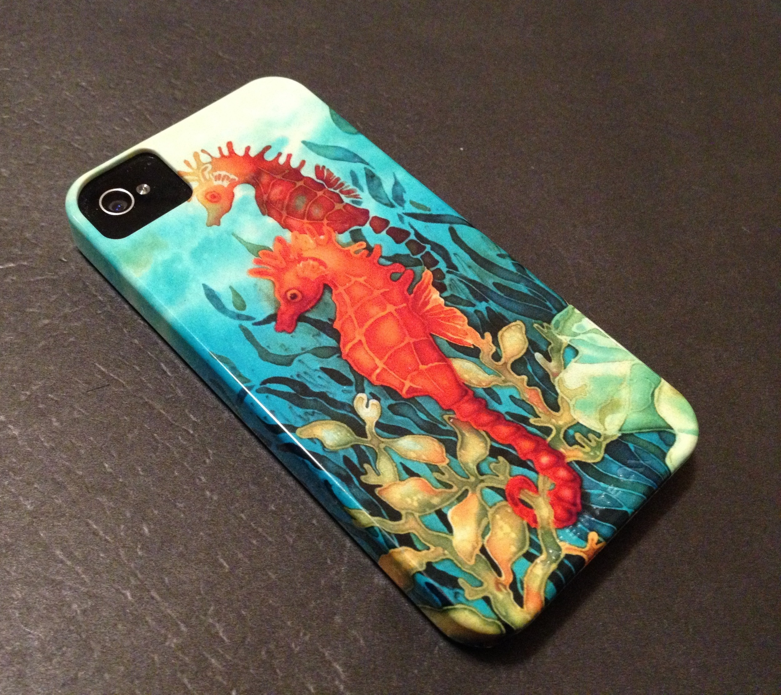 Deborah Younglao art on cell phone case