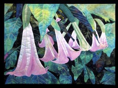 Roxane Lessa art quilt