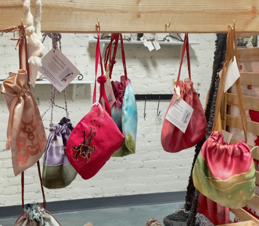 Silk purses at Joyful Jewel | Janine Maves