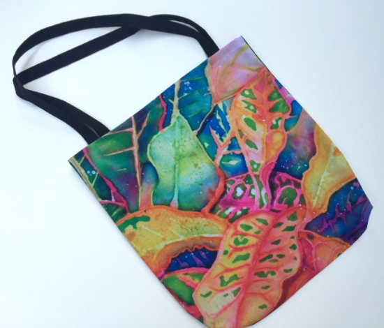 "My 18"" tote bag, printed with Croton Series I"