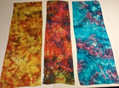 Parfait (layer) dyed silk fabrics