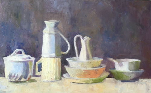 Oil still life by Elizabeth Lee