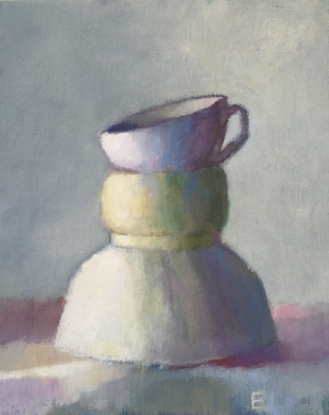Elizabeth Lee oil still life