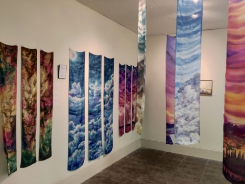 Sky Touching Earth exhibit