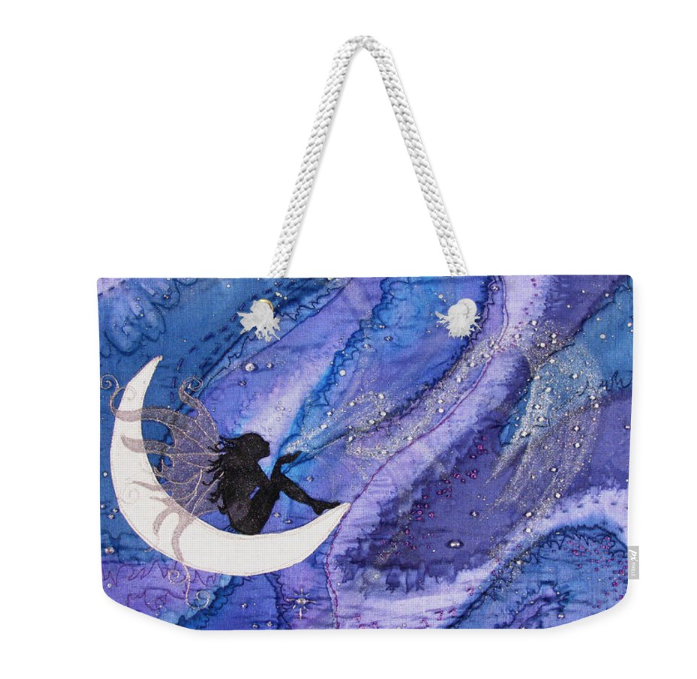 Tote bag with Fairy art by Deborah Younglao