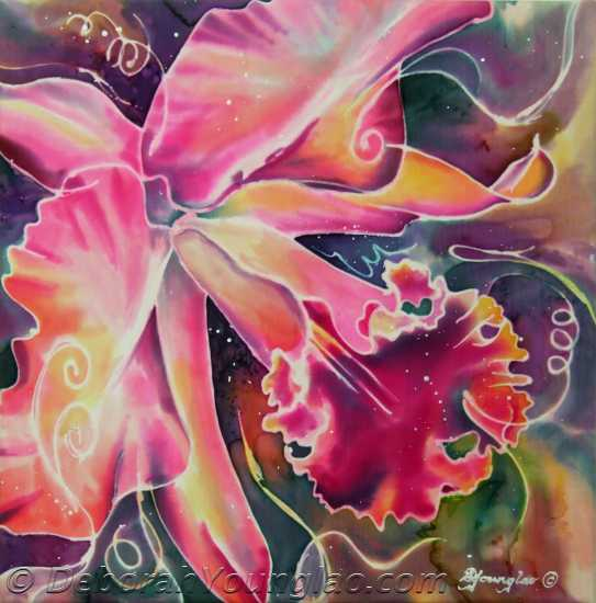 'Cattleya Series 3', 12 x 12 in.