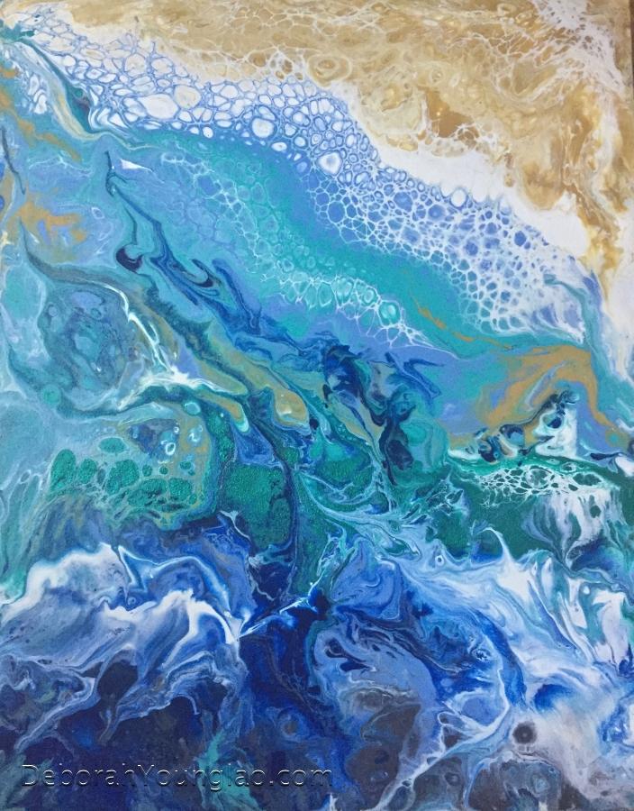 Ocean Meets Shore I