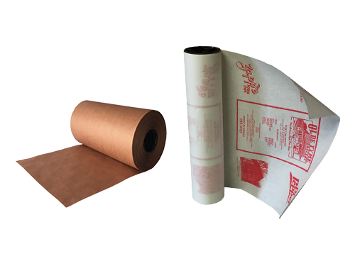 Ross & Wallace Pink and White Custom Printed Butcher Paper