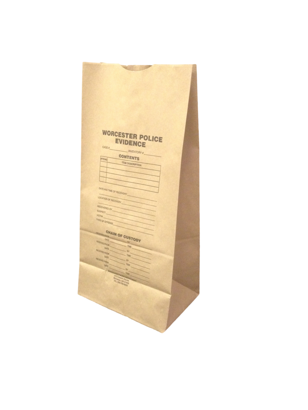 Custom Printed SOS Grocery Bag