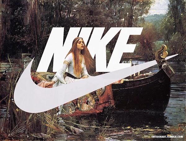Nike Just Do It Swoosh Art