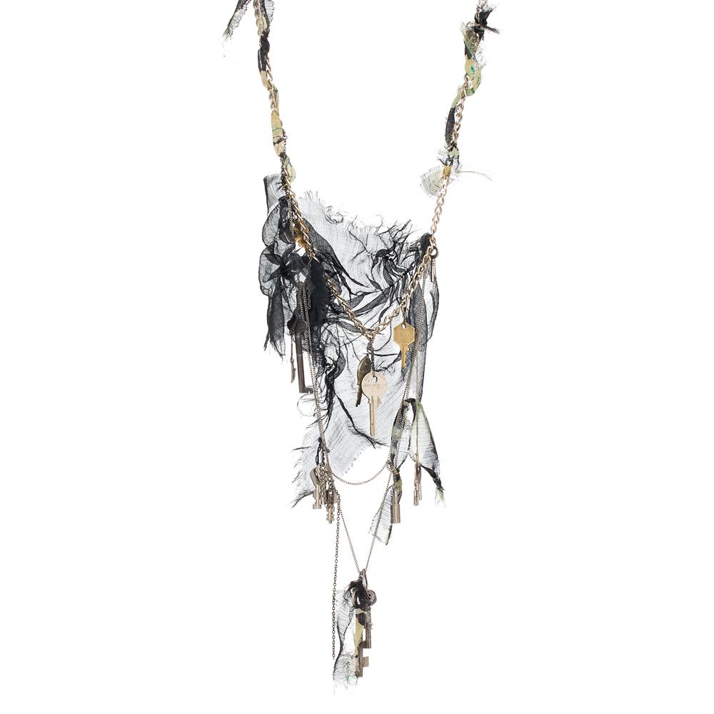keychain necklace -Natasha