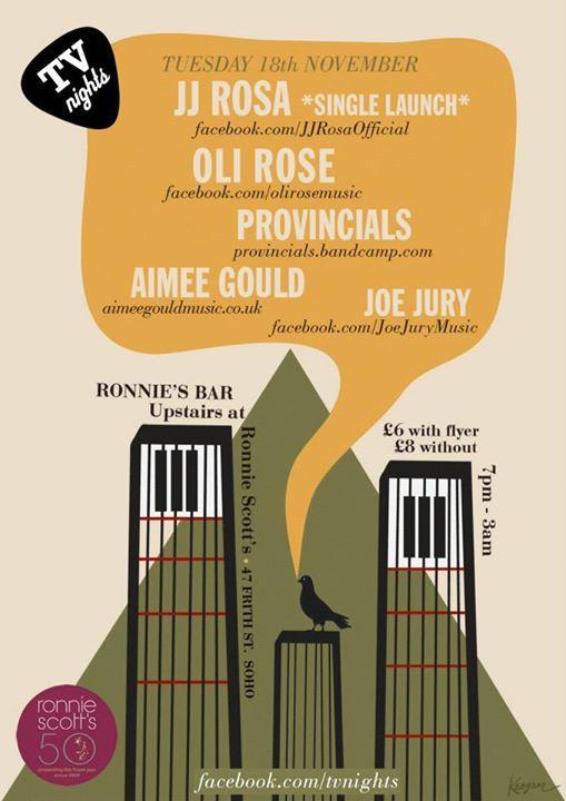 JJ Rosa Feel Loved Ronnie Scotts Single Launch