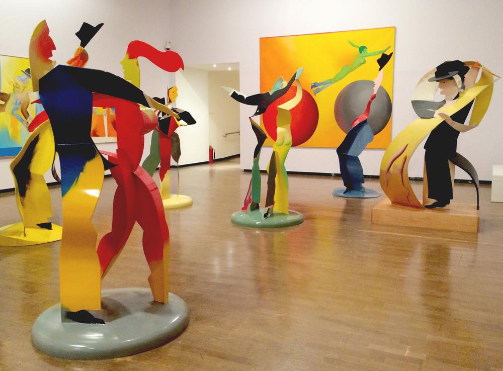Allen Jones exhibition at the Royal Academy of Art
