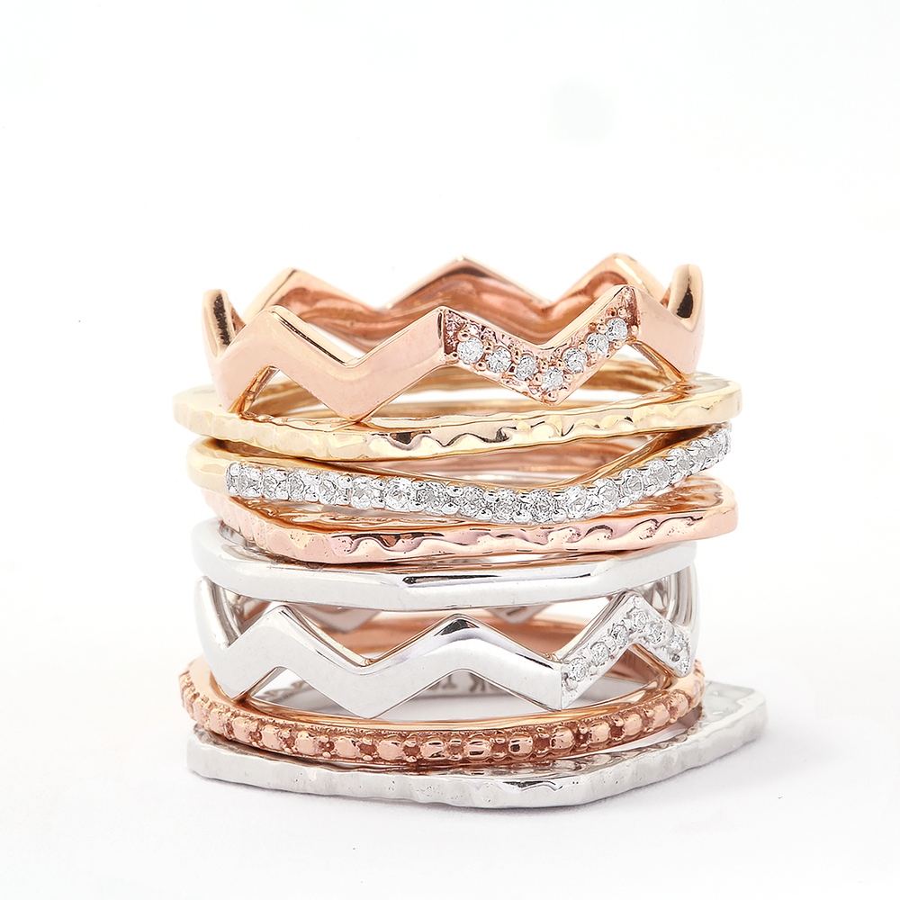 Gemporia Jewellery Rings Stacker Collection
