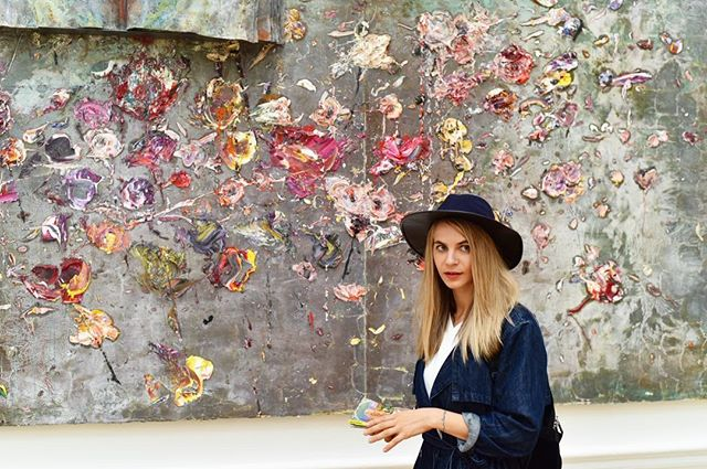 Monet @royalacademyarts earlier this year ✨🌸 #monet #art #flowers
