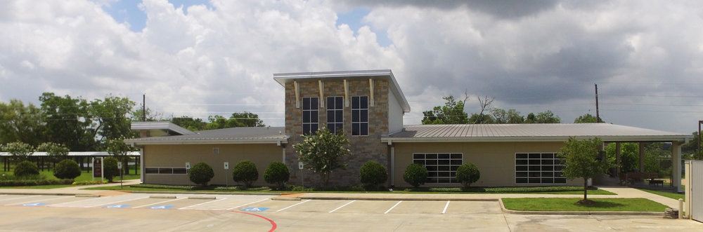 The Warehouse (located at the back of our campus) for Bridge (5th–6th grade) & Student Ministry (7th–12th grade)