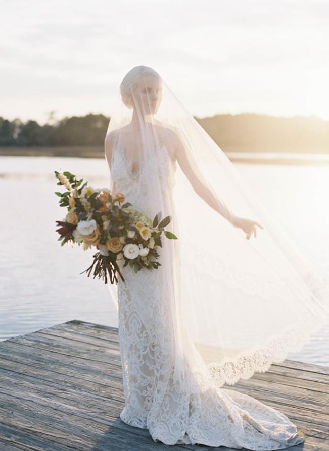 Romantic Elegance on Once Wed
