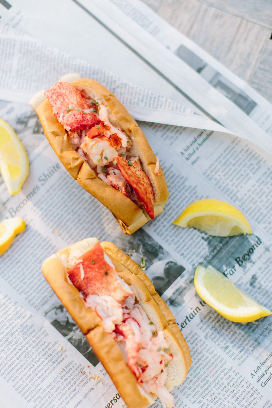 Lobster Roll Two Ways on SMP Living