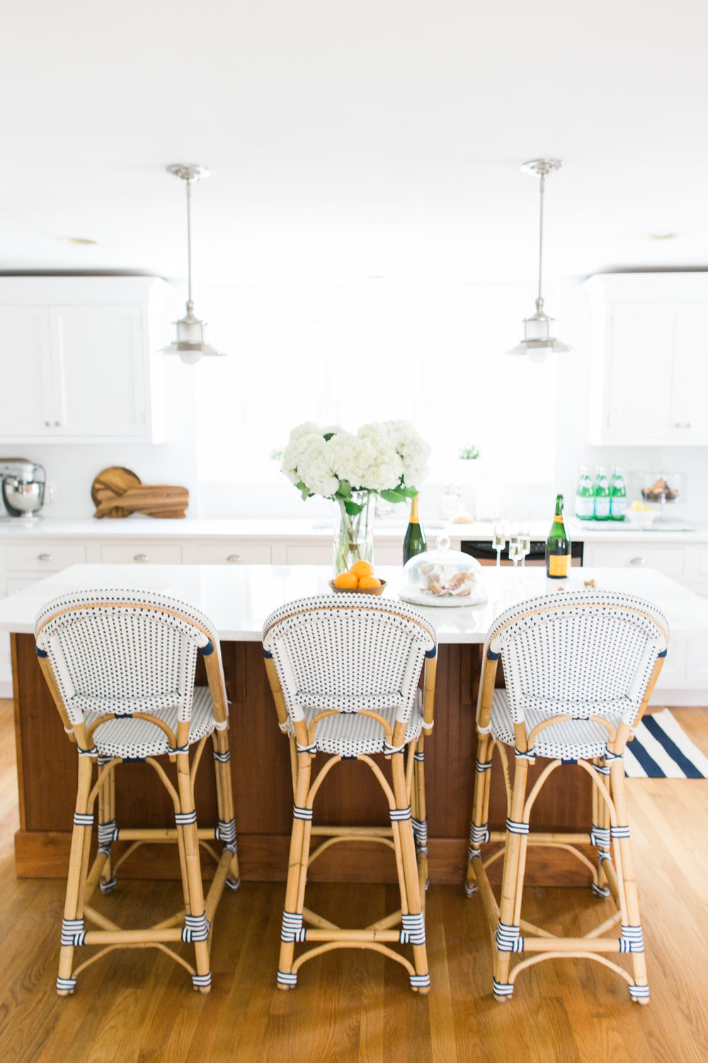 I hate our kitchen pendants. — Abby Capalbo