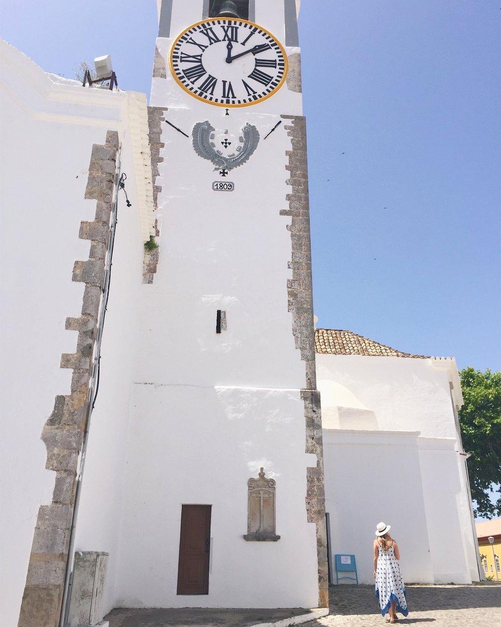 Exploring the streets of Tavira, Portugal
