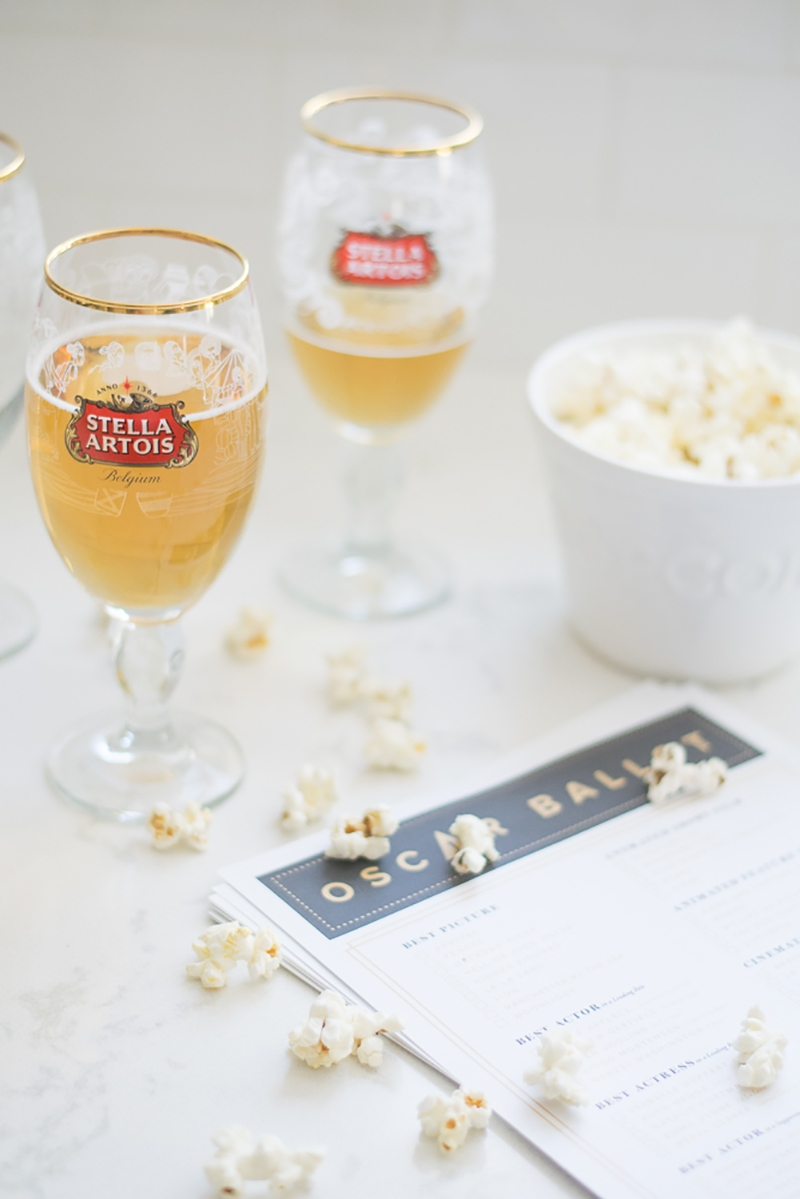 Oscar Party with Stella Artois + The Everygirl
