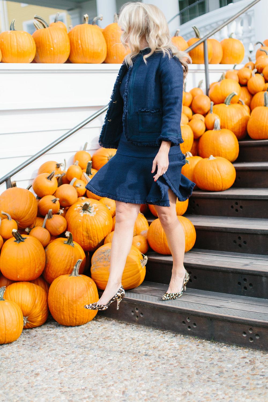 Instagram Pumpkins Fall Ocean House Rhode Island New England Blogger