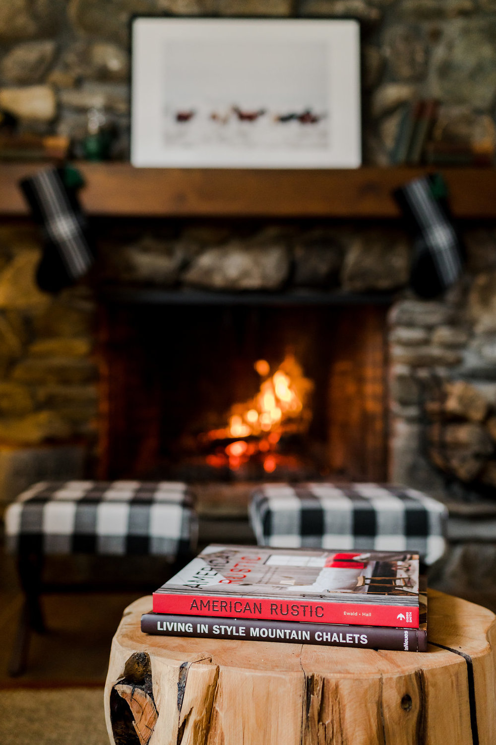 Vermont Ski House Design Coffee Table Books