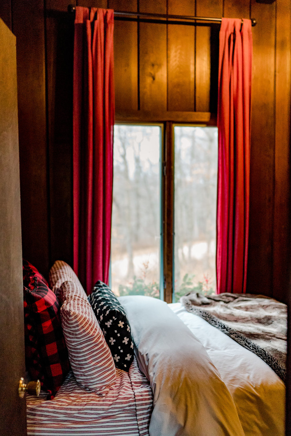 Vermont Ski House Design Bedroom