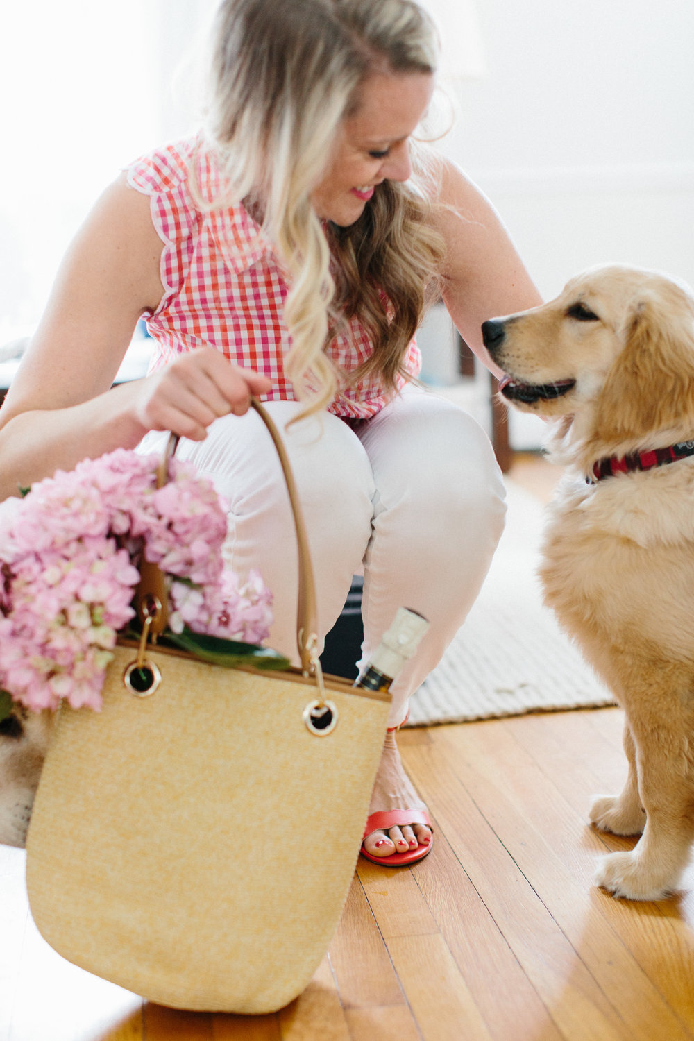 Spring Outfits National Puppy Day Styling: Abby Capalbo | Photography: Erin McGinn