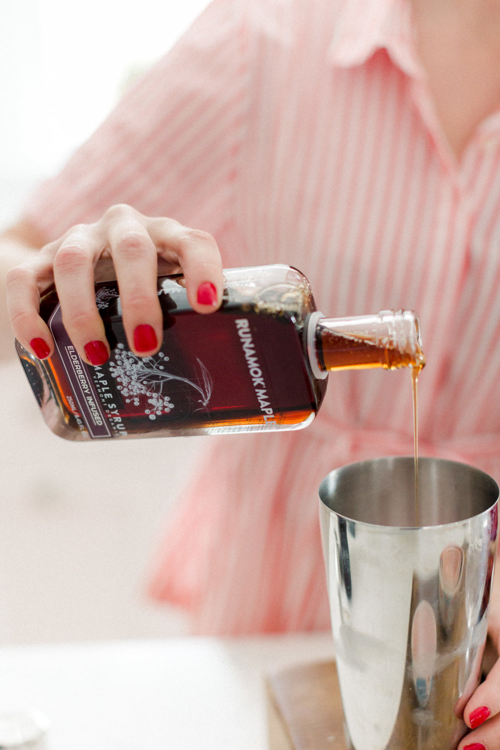 Spring cocktail recipes maple syrup from Abby Capalbo | Photography: Erin McGinn