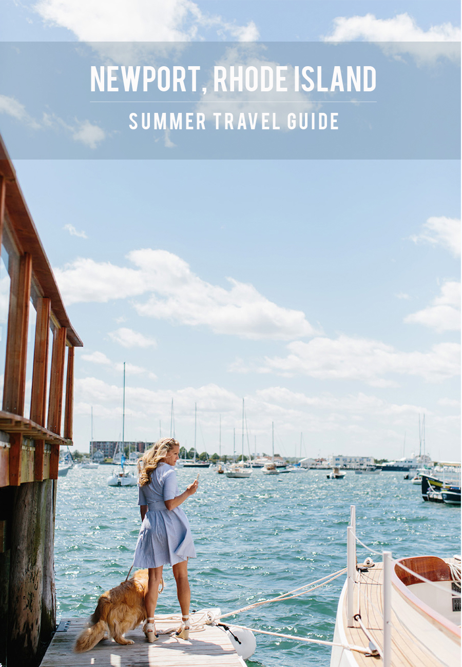 The Ultimate Newport, Rhode Island Summer Travel Guide from Abby Capalbo | Photo: Erin McGinn