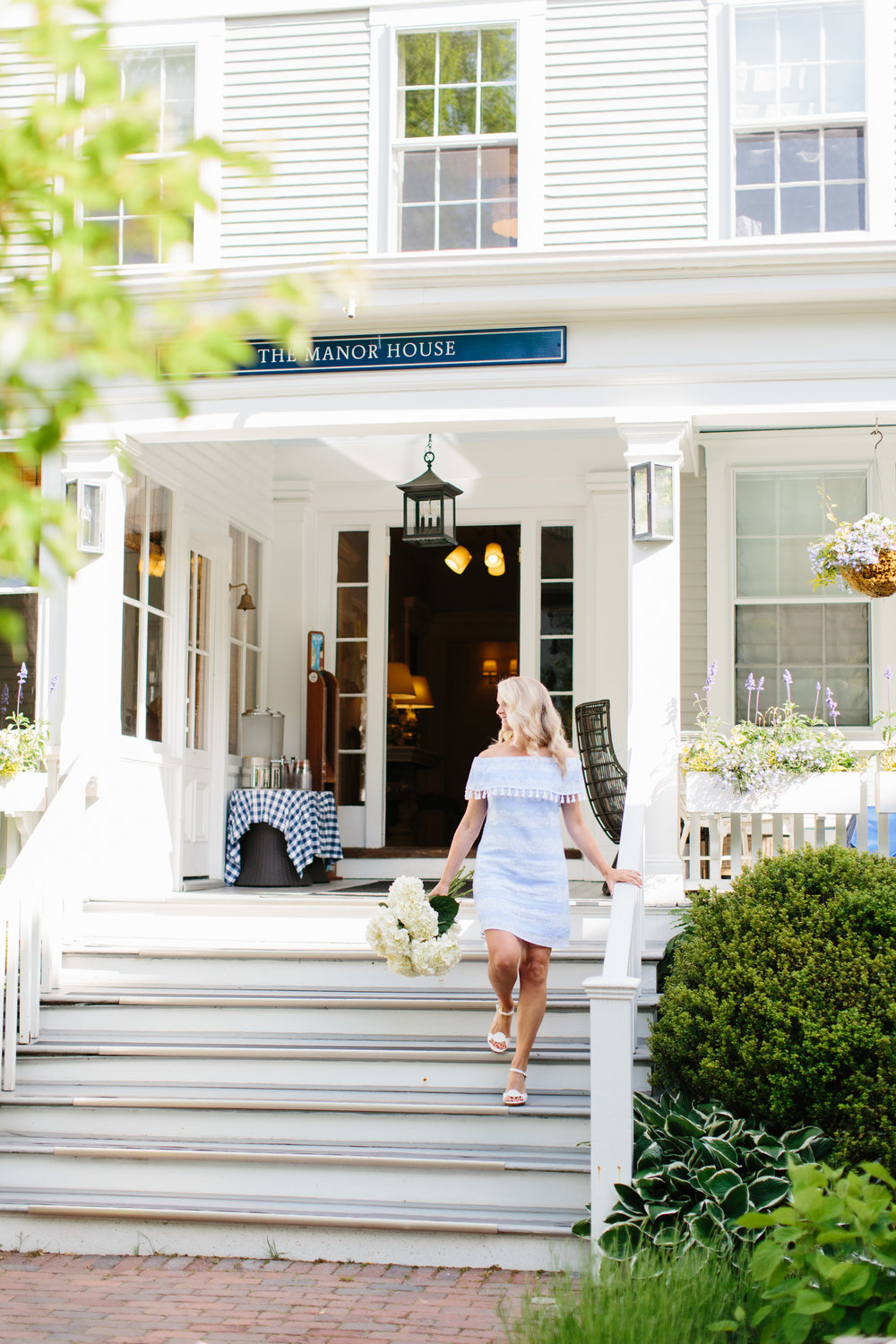 Nantucket Hotels New England Summer Attire Beach Outfits Abby Capalbo | Photography: Erin McGinn