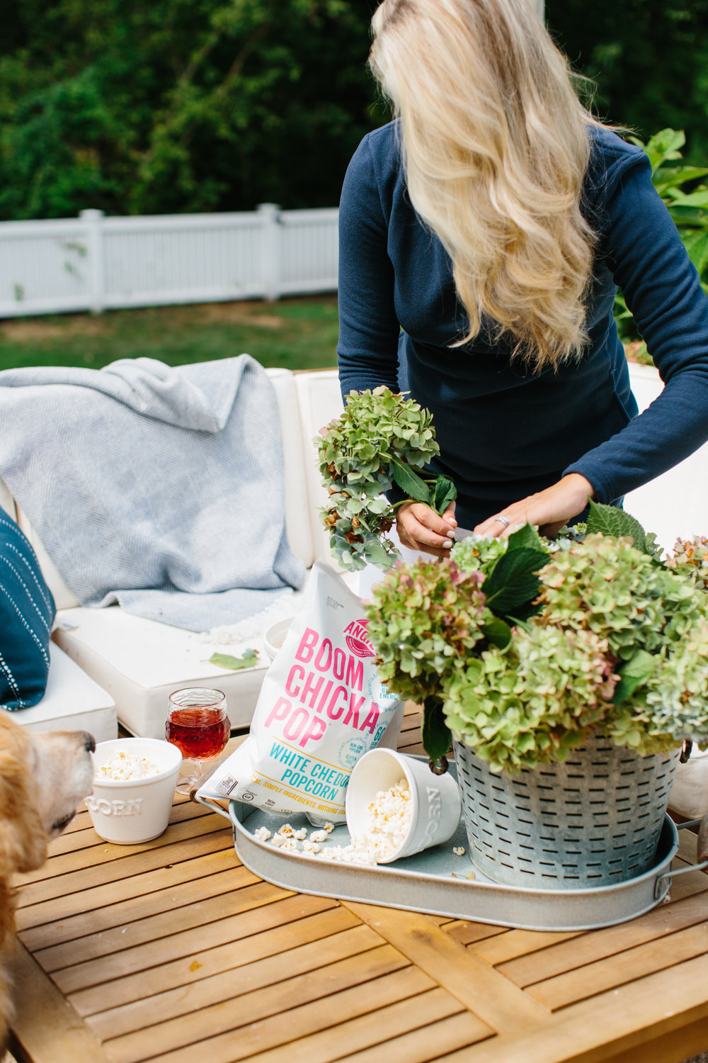 End of Summer Patio from Abby Capalbo | Photography: Erin McGinn