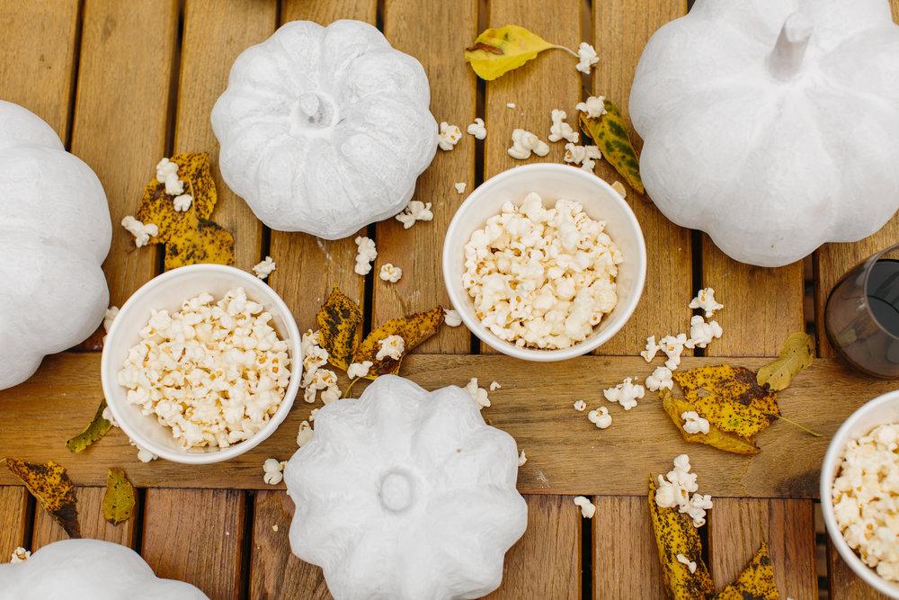 Fall Entertaining Popcorn Party from Abby Capalbo   Photography: Abby Capalbo