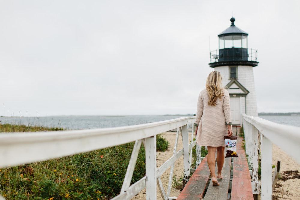 Cape Cod Potato Chips Nantucket New England Travel Blogger Abby Capalbo | Photo: Erin McGinn
