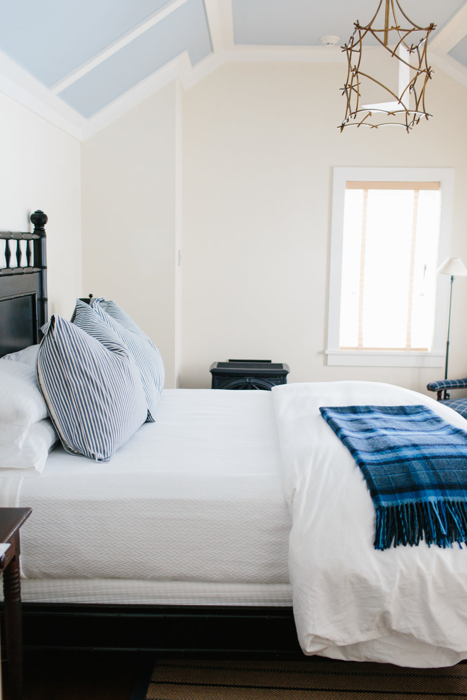 Bedroom at Hill Farm Inn