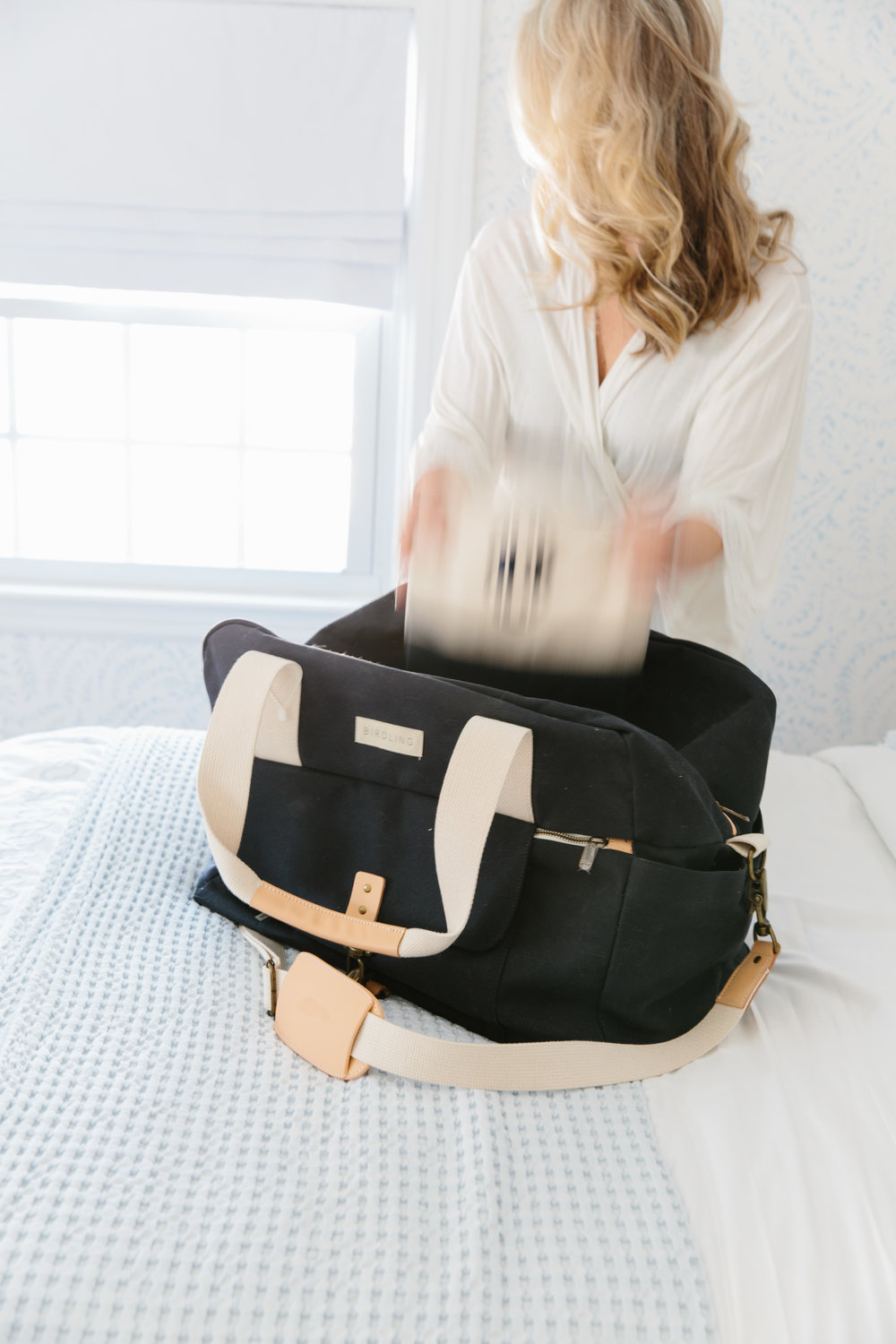 Postpartum Hospital Bag Must Haves from Abby Capalbo | Photography: Erin McGinn