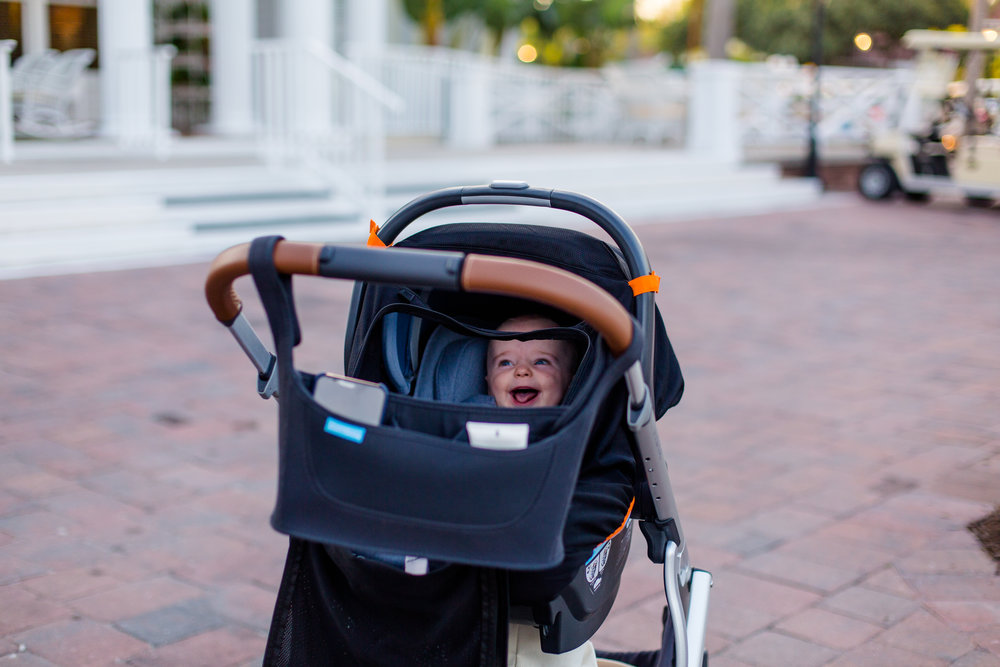 Tips for traveling with a 5 month old Gasparilla Travel Guide from Abby Capalbo