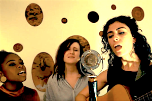 """Amalia draws inspiration from artists Joni Mitchell, Anderson Paak, the Boswell Sisters, and Emily King. The music is warm and full, complete with horns, harmony singers and rhythm section.  Check out the video for their song """"Bittersweet."""""""
