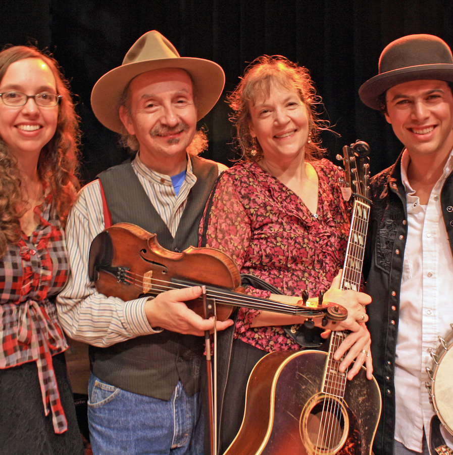 2:00 pmJAY UNGAR & MOLLY MASON - fiddle and fun with the family band.