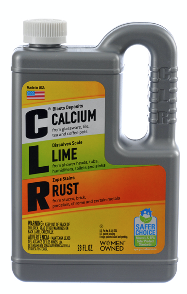 CLR® CALCIUM, LIME, & RUST REMOVER