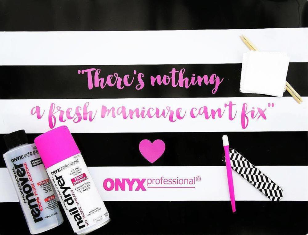 Onyx Brands Manicure Mat
