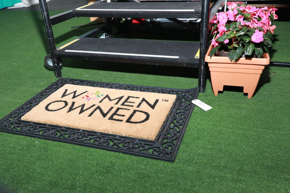 Welcome mat from Nancy Industries.