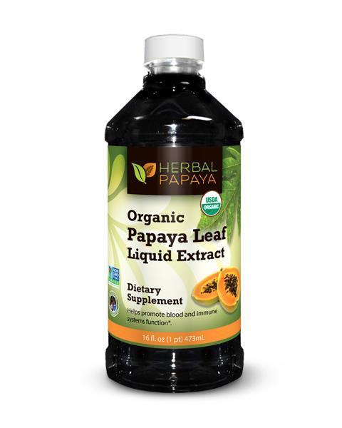 Papaya Leaf Extract Liquid