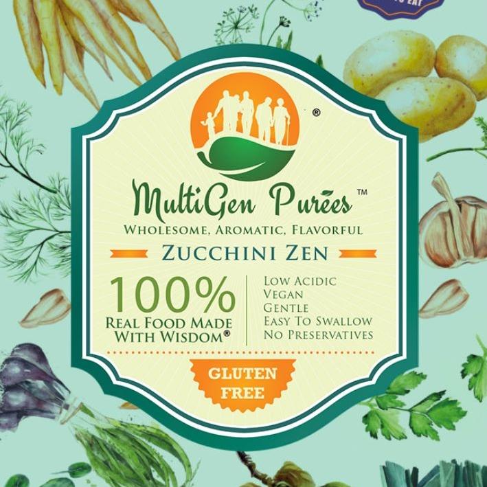 Zucchini Zen Puree