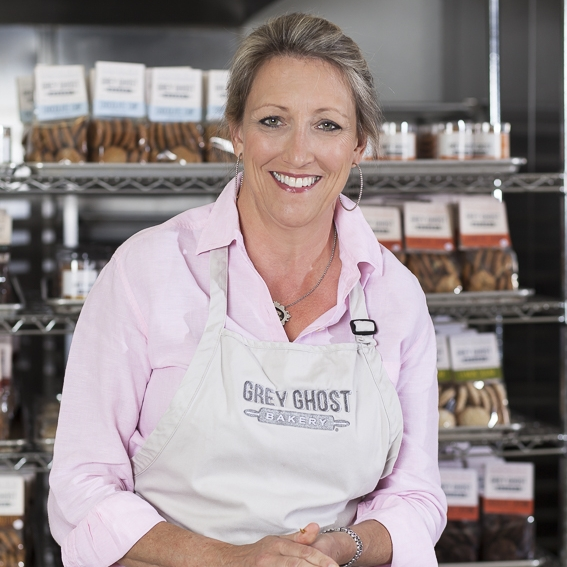 Katherine FrankstoneOwner & Chief Baker, Grey Ghost Bakery -