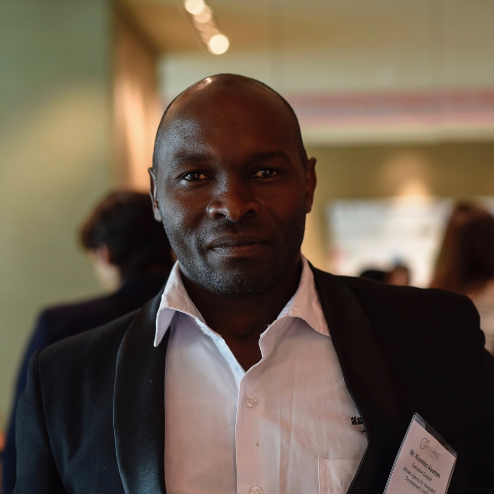 KISEMBO ASUMAN Executive Director African Agency for Integrated Development (AAID) Mr. Asuman has facilitated many institutions to build their capacity in delivering services to the community. He has been able to share knowledge of community development to individuals and institutions worldwide. Some of the institutions he has worked with include International Water Resource Centre (IRC) in the Netherlands, Water Supply and Sanitation Collaborative Council (WSSCC) in Geneva, World Water Council (WWC) and various organizations in Uganda and East Africa. Mr. Asuman has a BA from Kabarole College of Commerce.