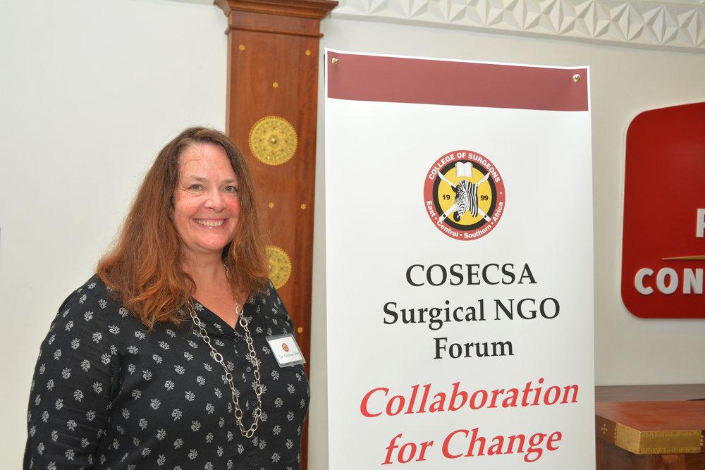 COSECSA Surgical NGO Forum (Dr. Kathleen Casey -ASAP VP).JPG