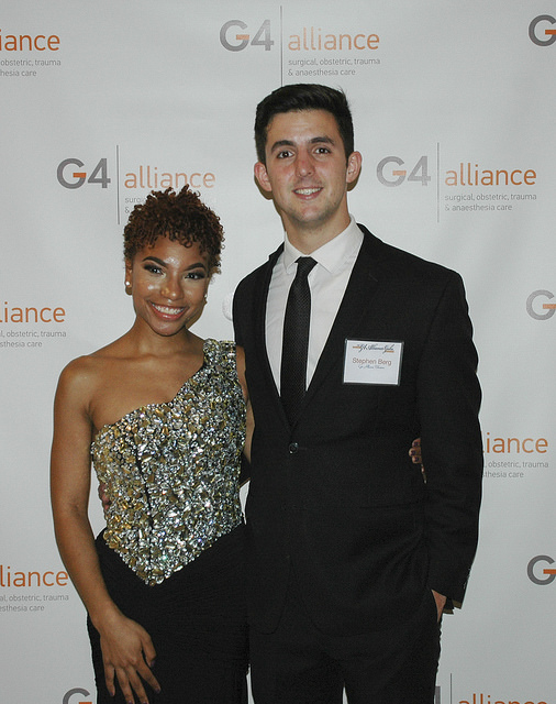 "G4 interns at the First Annual G4 Alliance ""Night of Illumination"" Gala!"