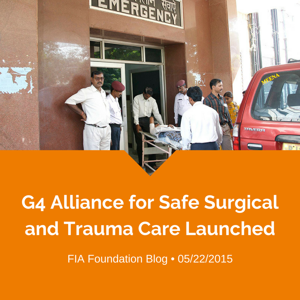 G4 Alliance for safe surgical and trauma care launched.png